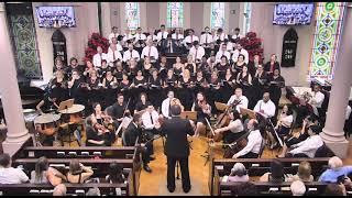 """Cantata """"E O VERBO SE FEZ CARNE"""" - Coro Geral - Igreja Presbiteriana Unida de São Paulo - 15/12/2019"""