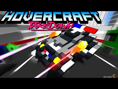 Hovercraft Takedown #1 Combat Racing Game iOS/Android/Amazon