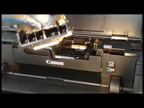 Remove print head for Canon ip7250 & ix6850 printers