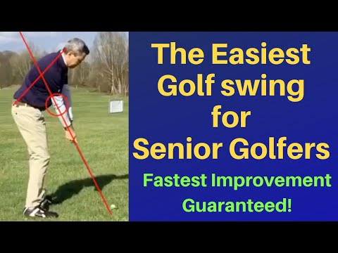 Easiest golf swing for Senior golfers. Simplify your golf game!