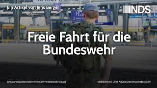 Freie Fahrt fr die Bundeswehr Jens Berger 19.08.2019
