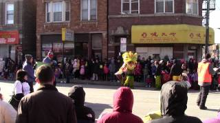 Lunar new year Parade 2012 in Chinatown, Chicago