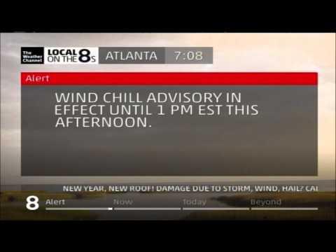 Atlanta, GA Local Forecast of Arctic Cold - January 7, 2014