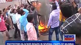 Protests in parts of Maharashtra against violence in Pune