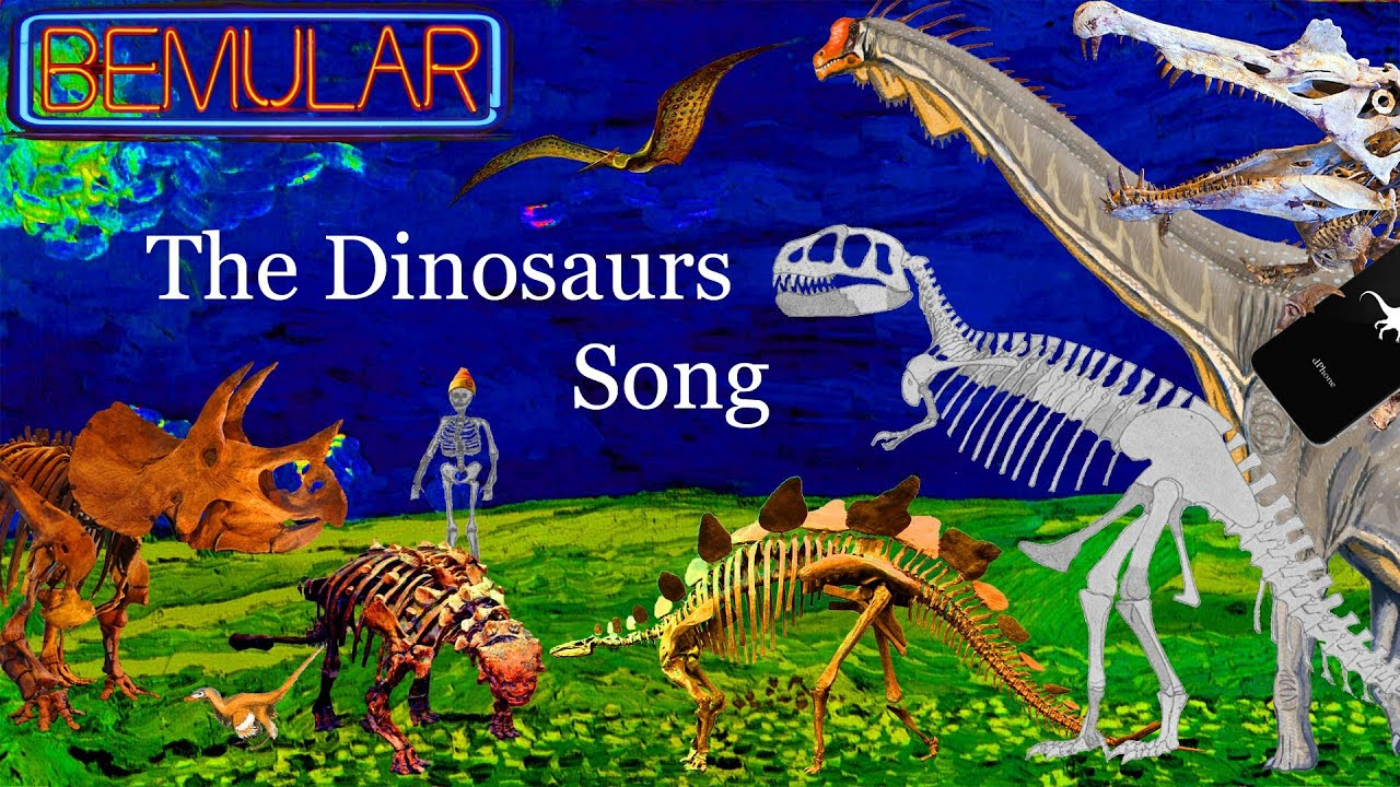 Bemular The Dinosaurs Song Educational Kids Music & Video