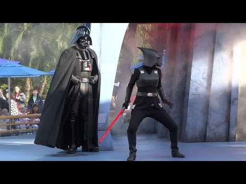 Jedi Training: Trials of the Temple full show during Star Wars Season of the Force at Disneyland