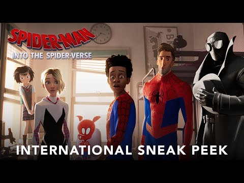Spider Man Into The Spider Verse International Extended