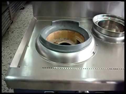 C mo funciona una estufa wok pallomaro cocinas m s for Cocinar wok