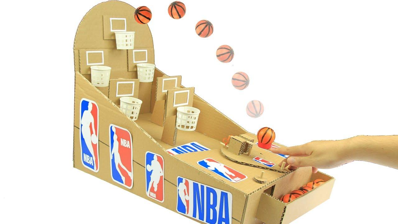 How Make Cardboard Arcade Game