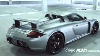 Porsche carrera gt drives ADV 1 Wheels