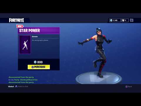 ♬ FORTNITE - STAR POWER DANCE! the pop star emote