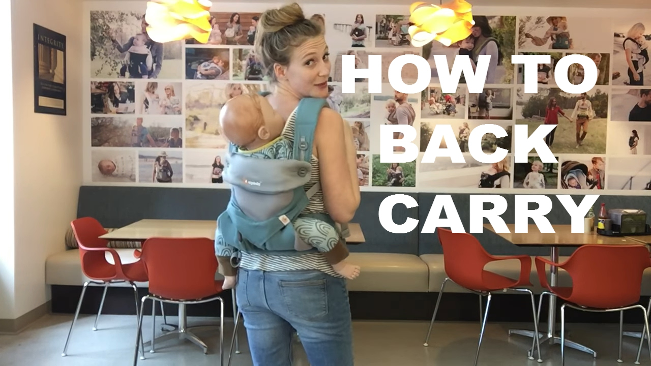 Ergo Back Carry 360 Ergobaby