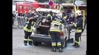 Désincarcération par les pompiers d'aubange 1