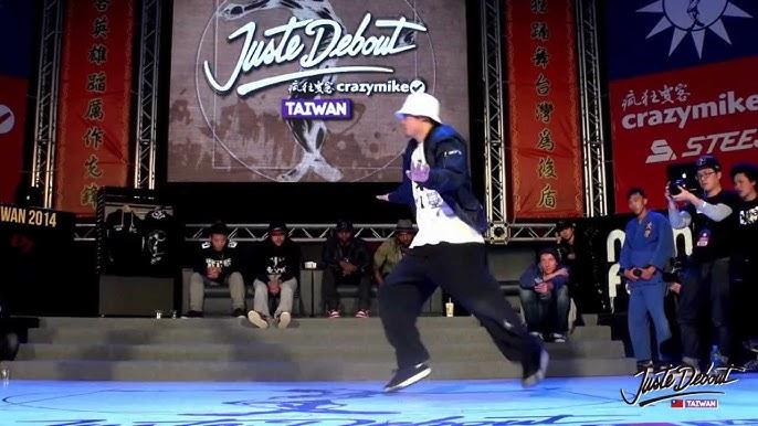 f18bab84681d HipHop Final - Kyoka Maika vs Diao Shiuan   CrazyMike Juste Debout Taiwan  2014
