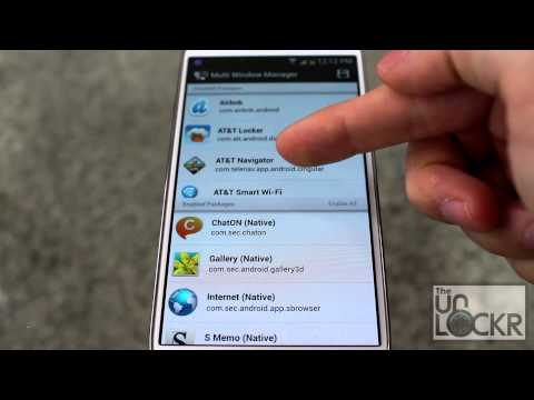 How To Enable Any App For MultiWindow On The Samsung Galaxy S4