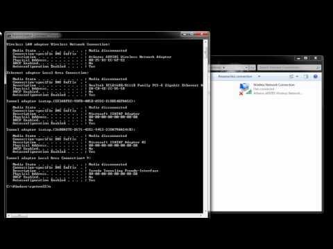 Cara Merubah IP Address dari Command Prompt