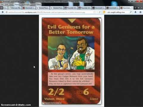 illuminati card FDA CDC Transhumanism