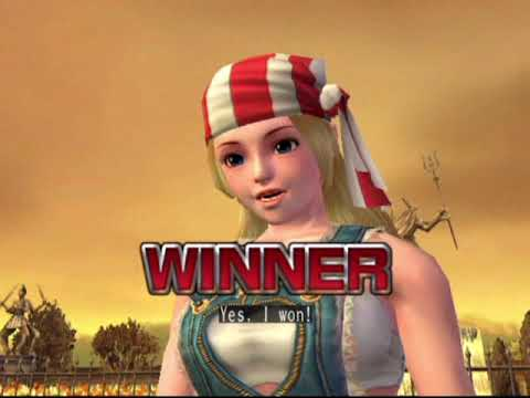 The King of Fighters 2006 (PlayStation 2) Story as Lilly Kane