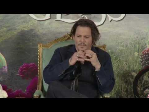 Johnny Depp explains Mad Hatter's madness