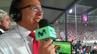 Perú 1 - 1 Colombia: La narración de Daniel Peredo tras el gol de Guerrero