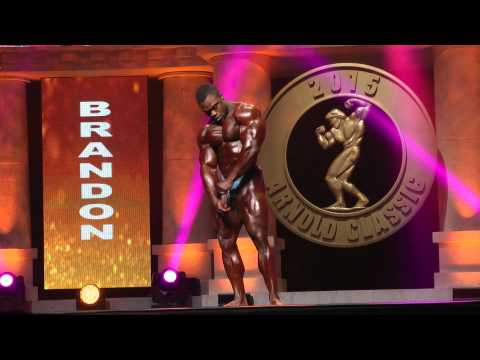 Arnold Classic 2015 Finals - Brandon Corry Posing Routine