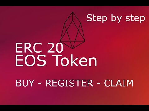 EOS ERC20 Token Buy Register and Claim | Step By Step