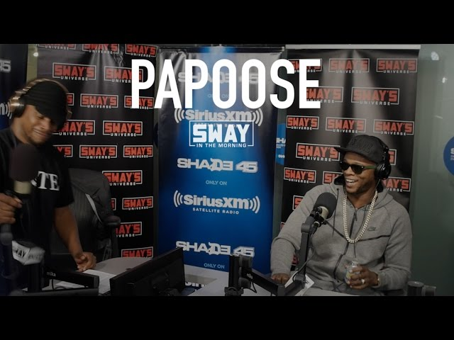 Papoose Gives Love Advice & Drops a Dope on Sway in the Morning