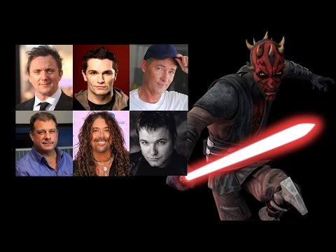 Comparing The Voices  Darth Maul