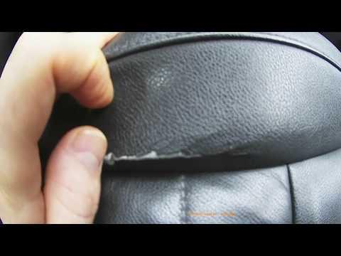обивка водительского сидения в Duster - почти кожа