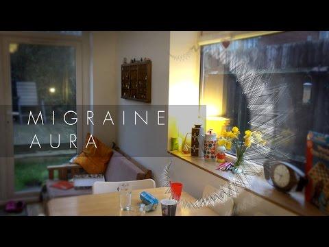 Migrane Visual Aura Simulation - zigzag pattern