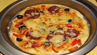 Божественно вкусная Пицца за 5 минут.Как приготовить соус. Пошаговый рецепт/ вкусная домашняя пицца.