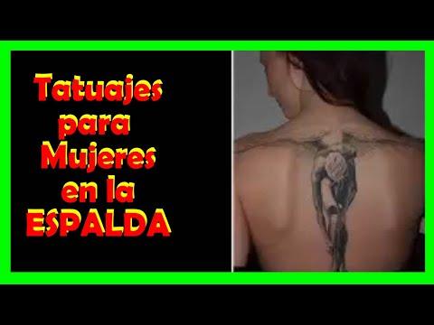 Los mejores tatuajes para mujeres en la espalda
