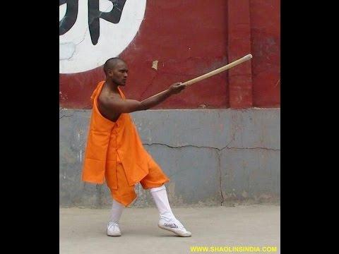 Indian Best Wushu Warrior Monk Training Camp in Teach Shifu Prabhakar Reddy Wushu Weapons