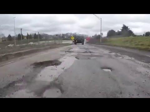 The worst potholes in Metro Detroit