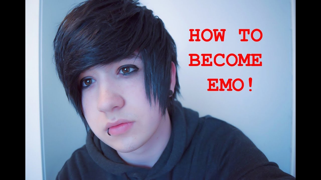 How to become an emo