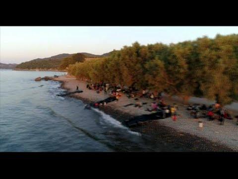 Más de seiscientos inmigrantes llegan a Lesbos en un solo día