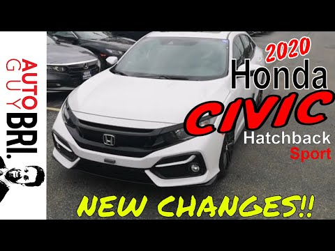 2020 Honda Civic Hatchback Sport | New Changes!