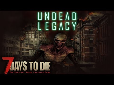 MAKING CRACK-A-BOOK GREAT AGAIN! | Undead Legacy 7 Days to Die | Gameplay | Alpha 16 S01E01