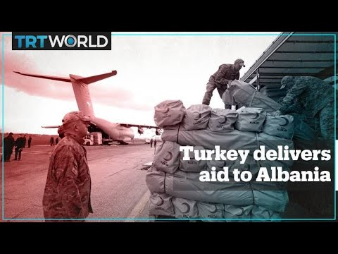 Turkey delivers aid to Albania earthquake victims