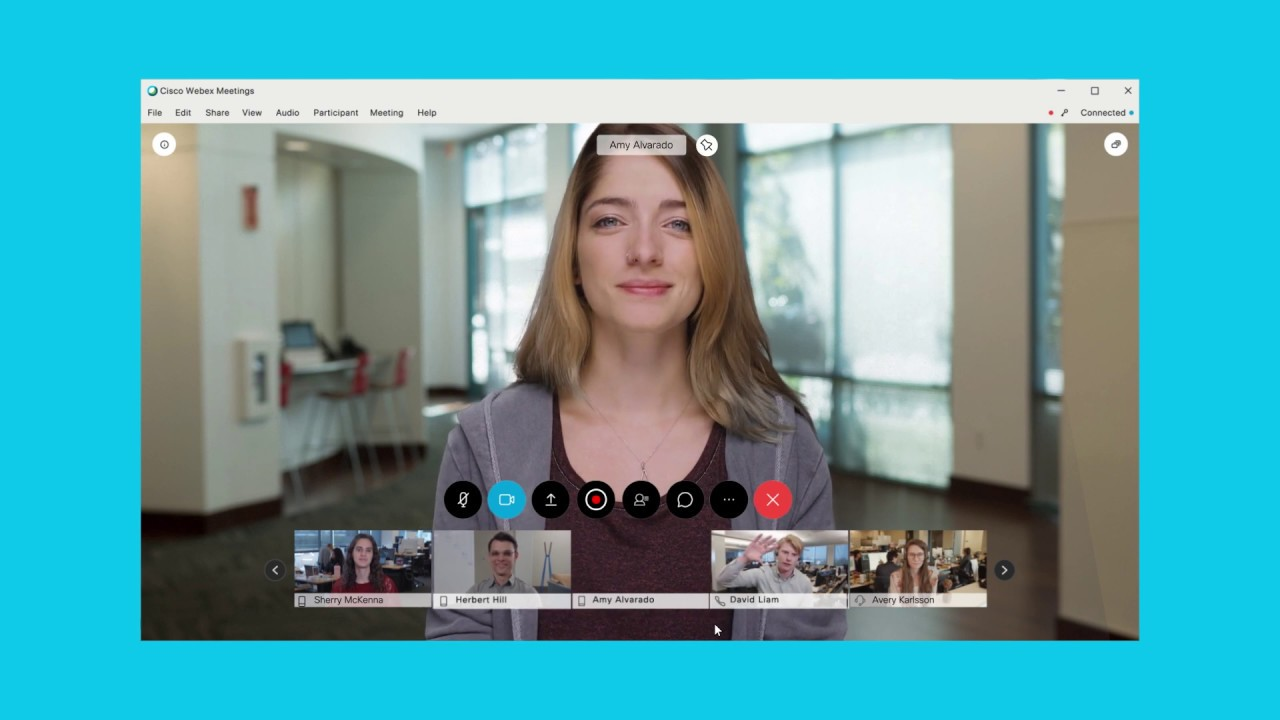 How To Record a Cisco Webex Meeting Video Conference - YouTube