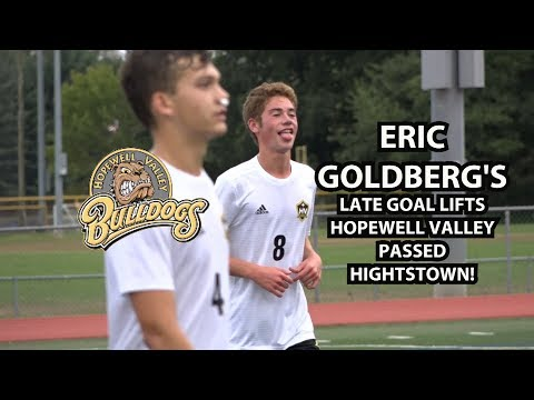 Hopewell Valley 1 Hightstown 0 | Eric Goldberg late goal