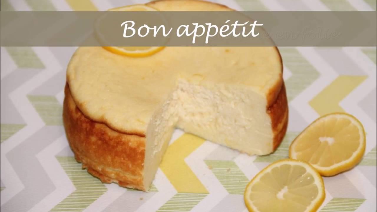 Recette gateau au fromage blanc dietetique