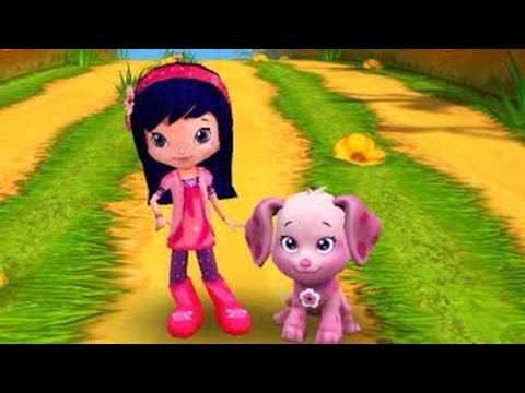 Strawberry Shortcake Berry Rush Cherry Jam New Record 15645 Distance Gameplay makeover for
