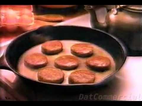 Jimmy Dean Breakfast Sausage Commercial (1985)