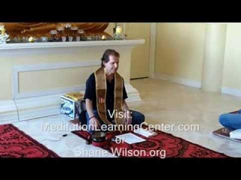 Shane Wilson - Jhana Meditation Explained - The Deeper States Of Meditation
