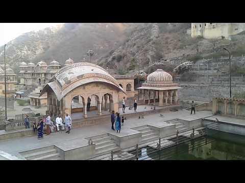 Galta ji Ghat, Jaipur | Open Bath || Monkey Temple, Galta ji JAIPUR
