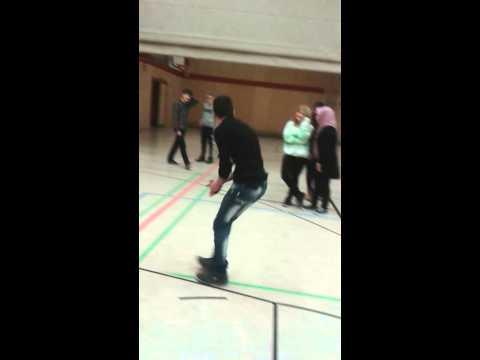 Afghan boy in Germany school