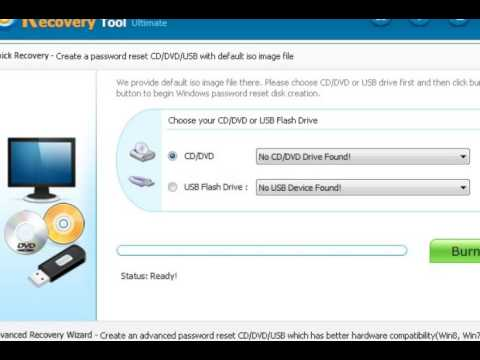 Windows Password Recovery Tool Ultimate / ISO & USB Free download