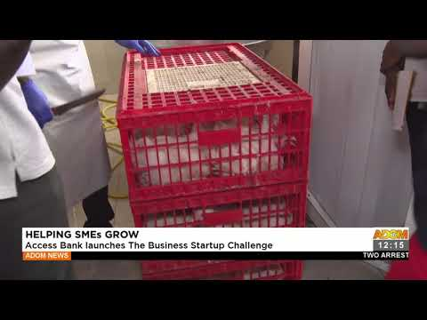 Helping SMEs Grow: Access Bank Launches The Business Startup Challenge- Adom TV (17-9-21)