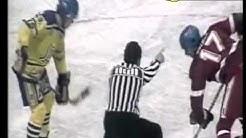 Czechoslovakia-Finland 18-December 1983 Izvestija Cup, ice-hockey, Moscow